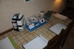 Les make and take : 2 cartes et un marque page